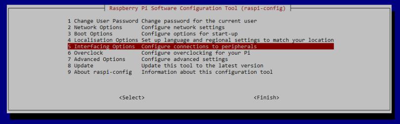 raspi-config-interfacing-options