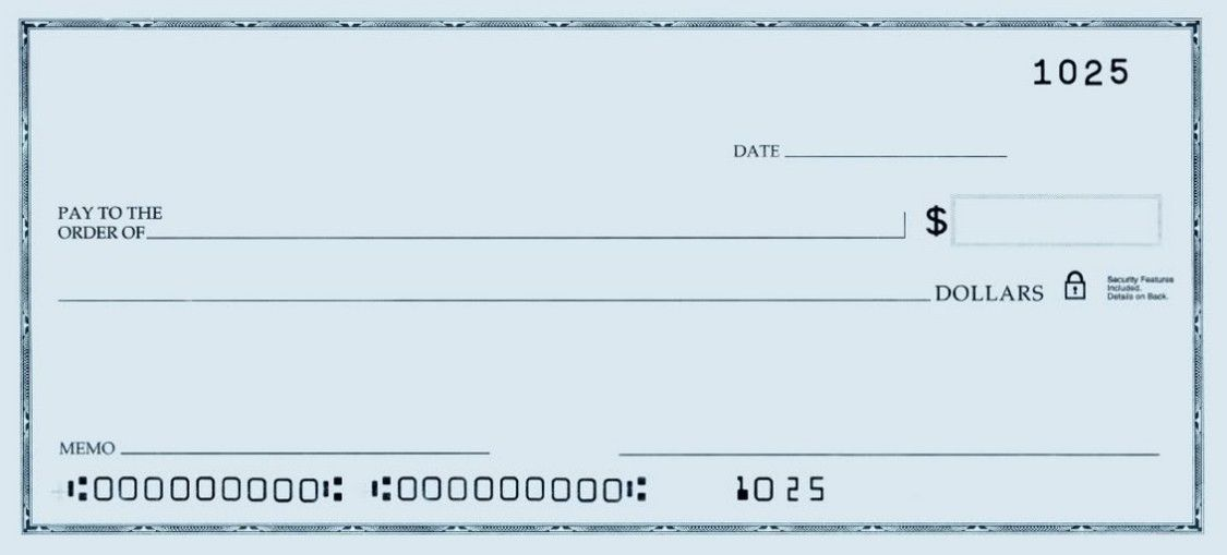 Fictitious Cheque